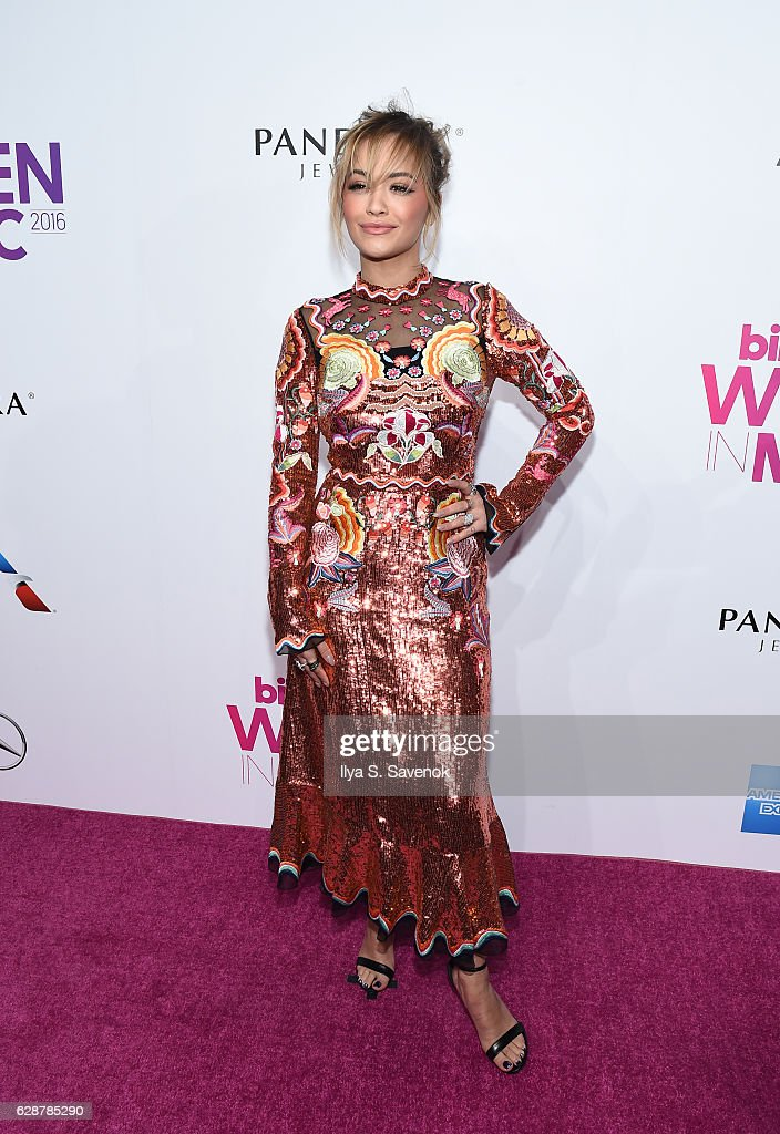 Rita Ora attends Billboard Women In Music 2016 Airing December 12th On Lifetime at Pier 36 on December 9, 2016 in New York City.