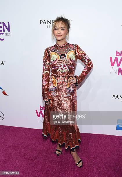 Rita Ora attends Billboard Women In Music 2016 Airing December 12th On Lifetime at Pier 36 on December 9 2016 in New York City