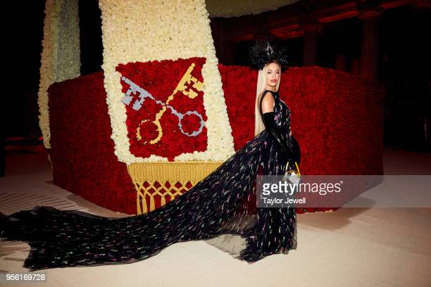 Rita Ora attends Heavenly Bodies Fashion The Catholic Imagination Costume Institute Gala at The Metropolitan Museum of Art on May 7 2018 in New York...