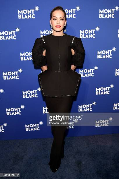 Rita Ora attends Montblanc Celebrates Le Petit Prince at the One World Trade Center Observatory on April 4 2018 in New York City