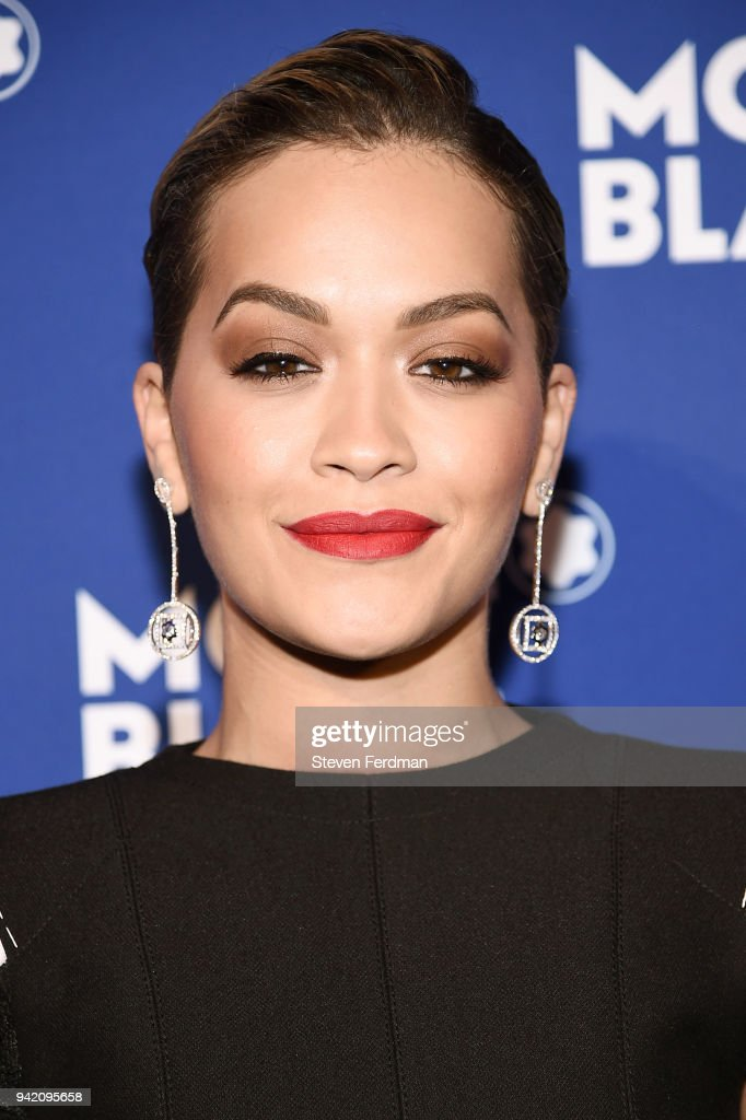 Rita Ora attends Montblanc Celebrates 'Le Petit Prince' at the One World Trade Center Observatory on April 4, 2018 in New York City.