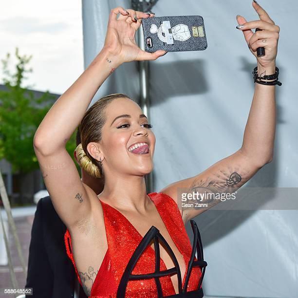 Rita Ora attends Netflix Presents the New York Premiere of 'The Get Down' at Lehman Center for the Performing Arts on August 11 2016 in Bronx NY