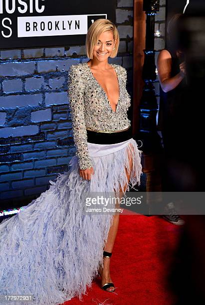 Rita Ora attends the 2013 MTV Video Music Awards at the Barclays Center on August 25 2013 in the Brooklyn borough of New York City