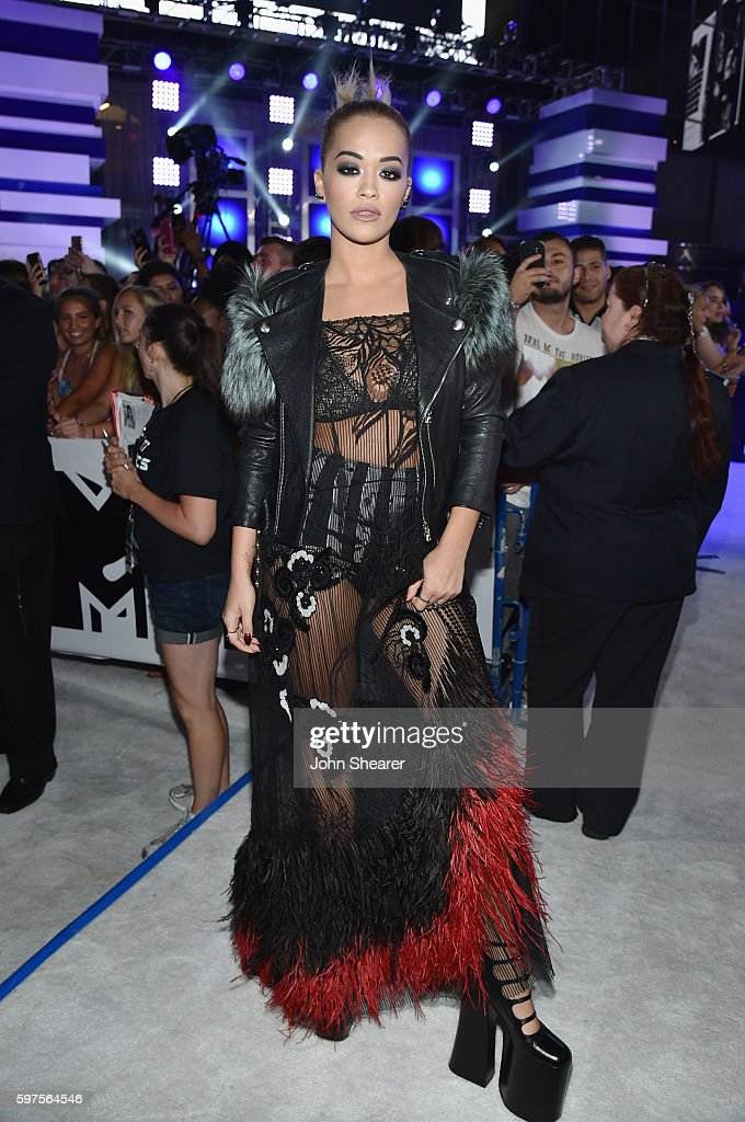 Rita Ora attends the 2016 MTV Video Music Awards on August 28, 2016 in New York City.