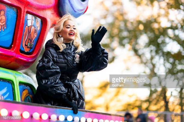 Rita Ora attends the 2018 Macy's Thanksgiving Day Parade on November 22 2018 in New York City