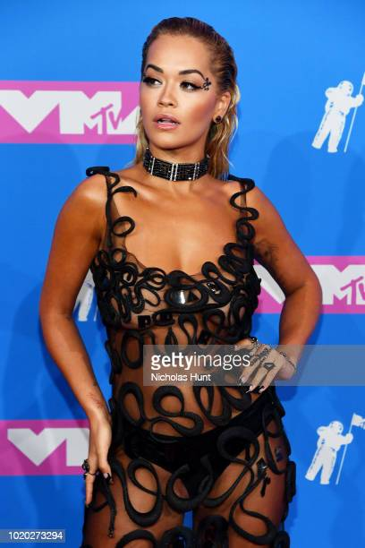 Rita Ora attends the 2018 MTV Video Music Awards at Radio City Music Hall on August 20 2018 in New York City