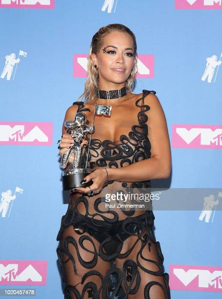 Rita Ora attends the 2018 MTV Video Music Awards at Radio City Music Hall on August 20 2018 in New York Cityl