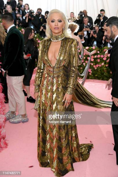 Rita Ora attends The 2019 Met Gala Celebrating Camp Notes on Fashion at Metropolitan Museum of Art on May 06 2019 in New York City