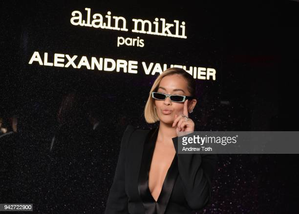Rita Ora attends the Alain Mikli x Alexandre Vauthier Launch Party on April 5 2018 in New York City