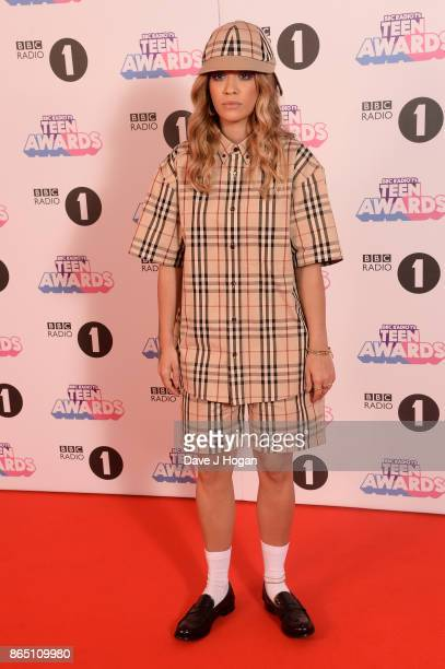 Rita Ora attends the BBC Radio 1 Teen Awards 2017 at Wembley Arena on October 22 2017 in London England
