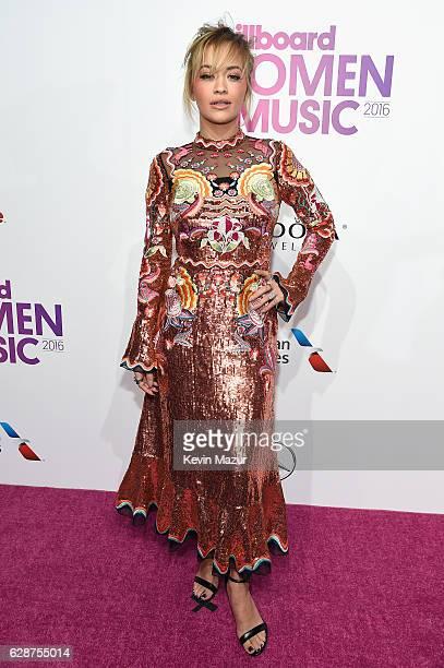 Rita Ora attends the Billboard Women in Music 2016 event on December 9 2016 in New York City