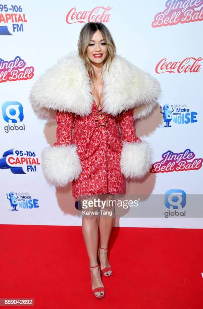 Rita Ora attends the Capital FM Jingle Bell Ball with CocaCola at The O2 Arena on December 9 2017 in London England