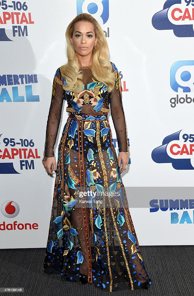 Capital FM Summertime Ball With Vodafone : News Photo