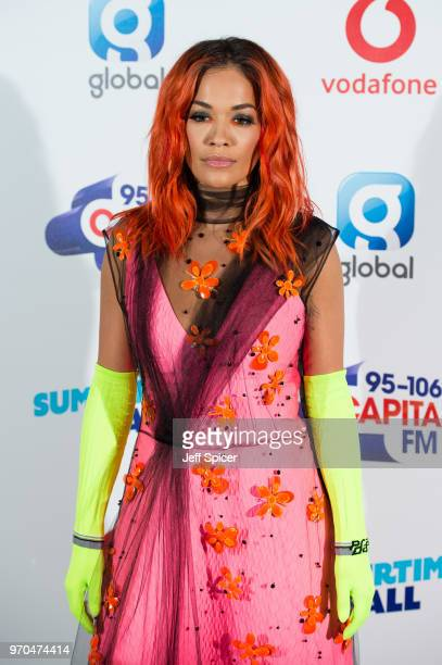 Rita Ora attends the Capital Summertime Ball 2018 at Wembley Stadium on June 9 2018 in London England