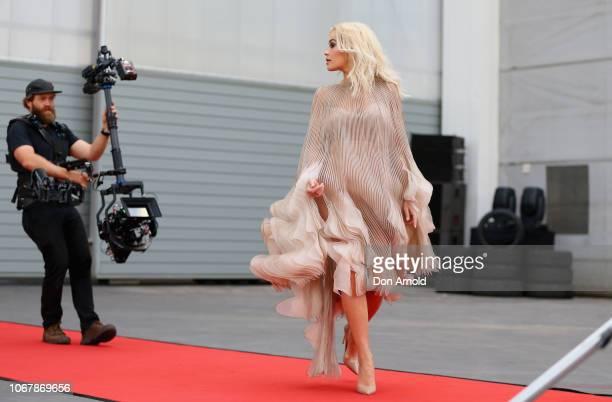 Rita Ora attends the Cartier Precious Garage Party on November 29 2018 in Sydney Australia