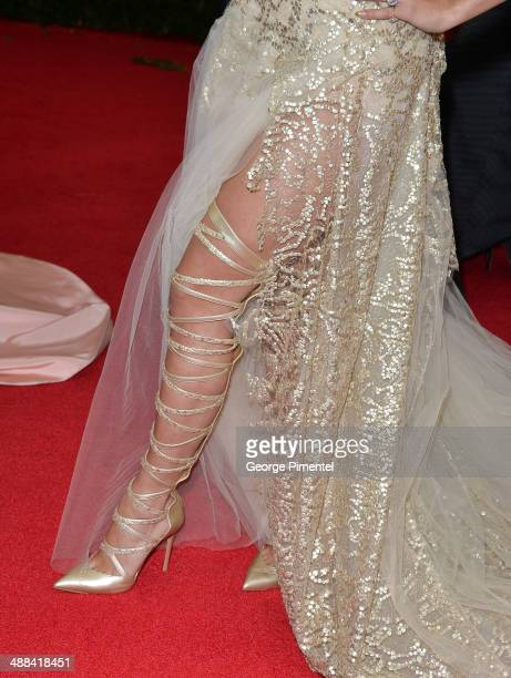 Rita Ora attends the 'Charles James Beyond Fashion' Costume Institute Gala at the Metropolitan Museum of Art on May 5 2014 in New York City
