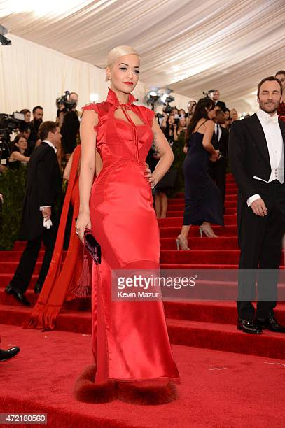 Rita Ora attends the 'China Through The Looking Glass' Costume Institute Benefit Gala at Metropolitan Museum of Art on May 4 2015 in New York City