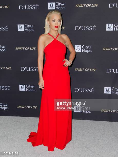 Rita Ora attends the City of Hope Gala on October 11 2018 in Los Angeles California