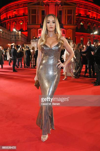 Rita Ora attends The Fashion Awards 2017 in partnership with Swarovski at Royal Albert Hall on December 4 2017 in London England