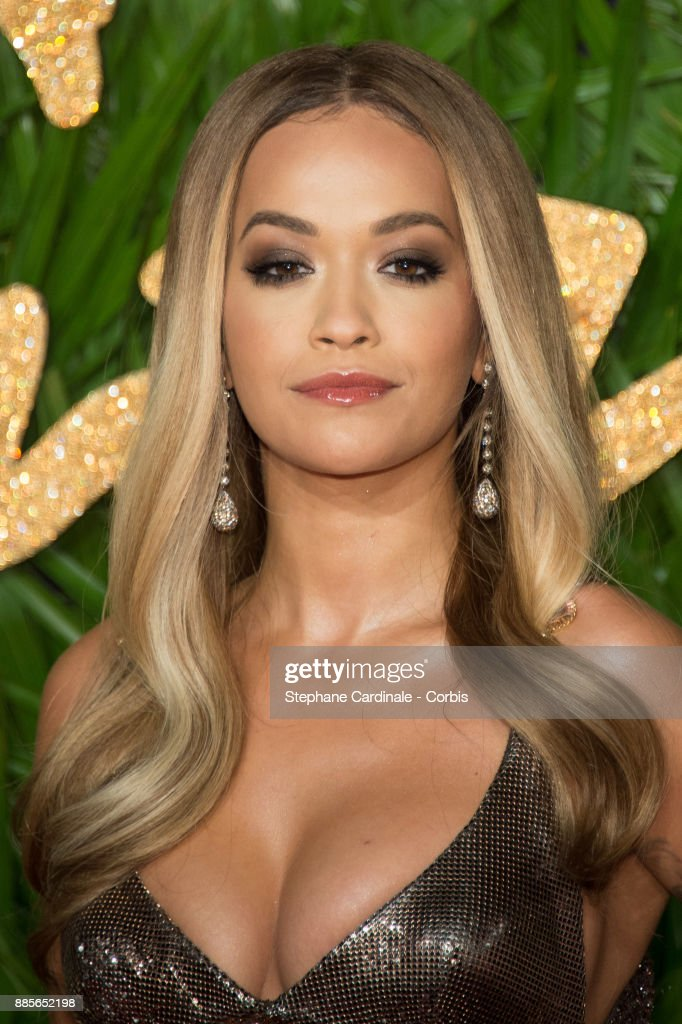 Rita Ora attends the Fashion Awards 2017 In Partnership With Swarovski at Royal Albert Hall on December 4, 2017 in London, England.