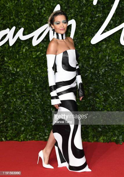 Rita Ora attends The Fashion Awards 2019 at the Royal Albert Hall on December 02 2019 in London England