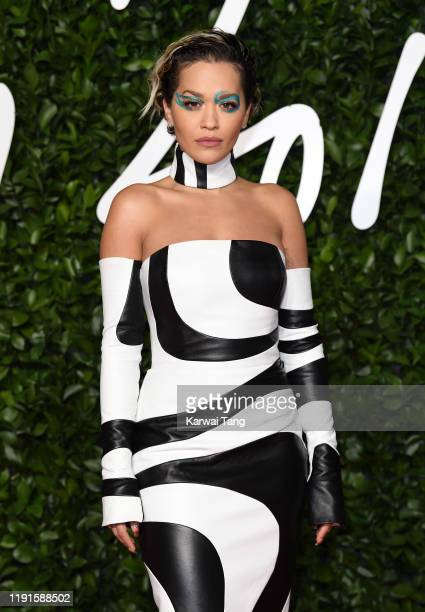 Rita Ora attends The Fashion Awards 2019 at the Royal Albert Hall on December 02, 2019 in London, England.