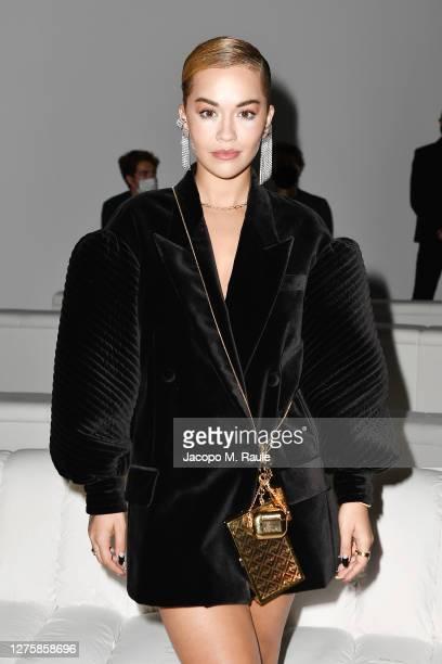 Rita Ora attends the Fendi Spring Summer 2021 Show during Milan Fashion Week on September 23, 2020 in Milan, Italy.