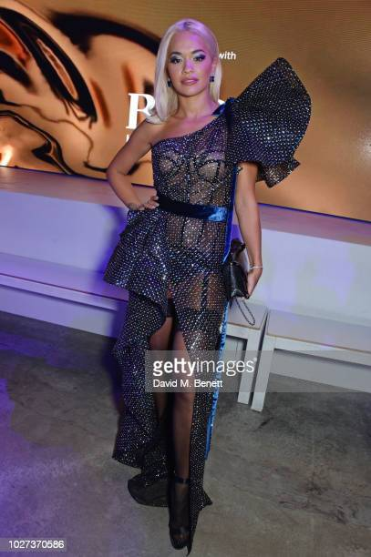 Rita Ora attends the GQ Men of the Year Awards 2018 in association with HUGO BOSS at Tate Modern on September 5 2018 in London England