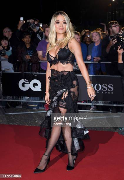 Rita Ora attends the GQ Men Of The Year Awards 2019 at Tate Modern on September 03, 2019 in London, England.