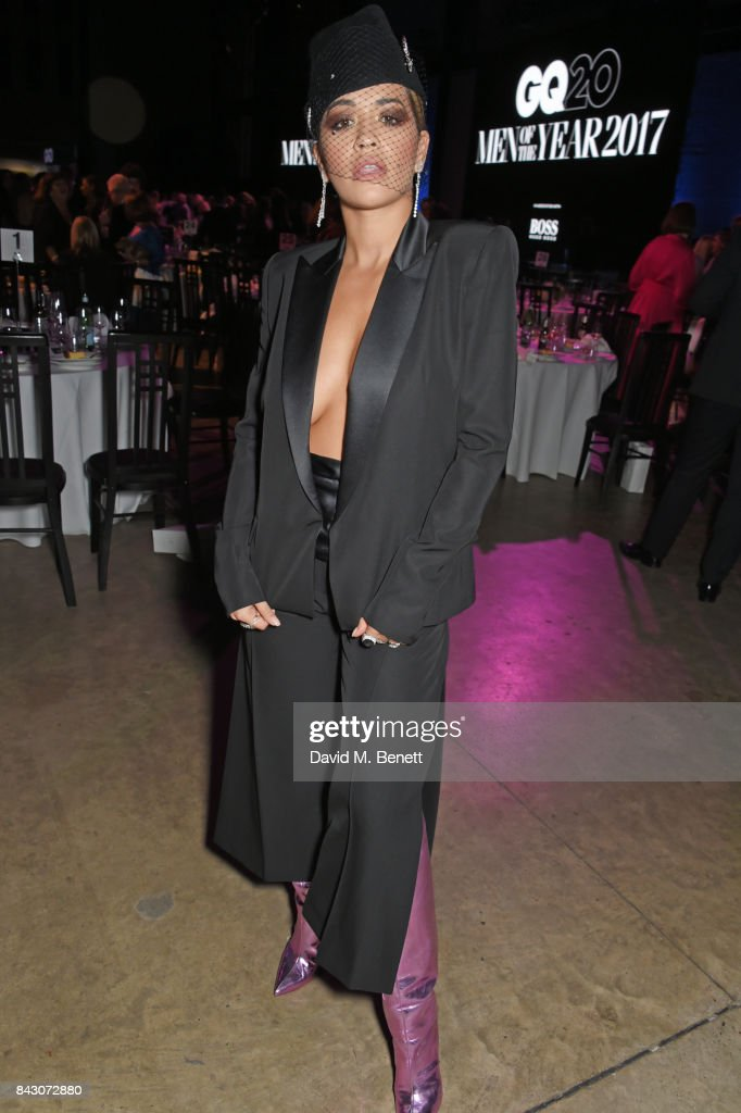 Rita Ora attends the GQ Men Of The Year Awards after party at the Tate Modern on September 5, 2017 in London, England.
