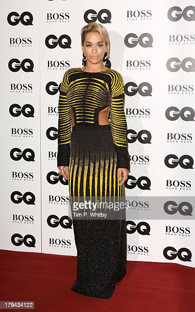 Rita Ora attends the GQ Men of the Year awards at The Royal Opera House on September 3 2013 in London England
