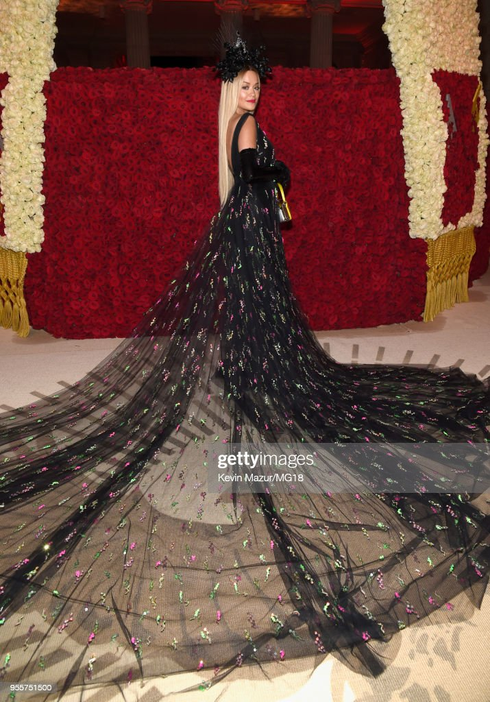 Fashion & The Catholic Imagination Costume Institute Gala at The Metropolitan Museum of Art on May 7, 2018 in New York City.