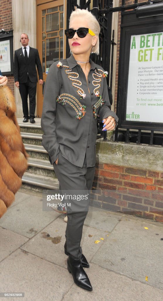 Rita Ora Attends The Hunter Original Show During London Fashion Week News Photo Getty Images
