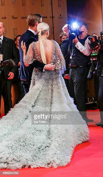 Rita Ora attends the Kryolan At Bambi Awards 2015 Red Carpet Arrivals on November 12 2015 in Berlin Germany