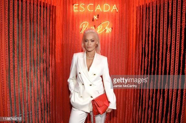 Rita Ora attends the launch of the ESCADA Heartbag by Rita Ora on March 27 2019 in New York City