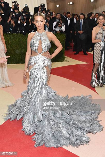 Rita Ora attends the 'Manus x Machina Fashion In An Age Of Technology' Costume Institute Gala at Metropolitan Museum of Art on May 2 2016 in New York...