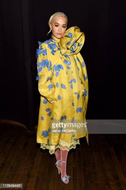 Rita Ora attends the Marc Jacobs Fall 2019 Show at Park Avenue Armory on February 13 2019 in New York City