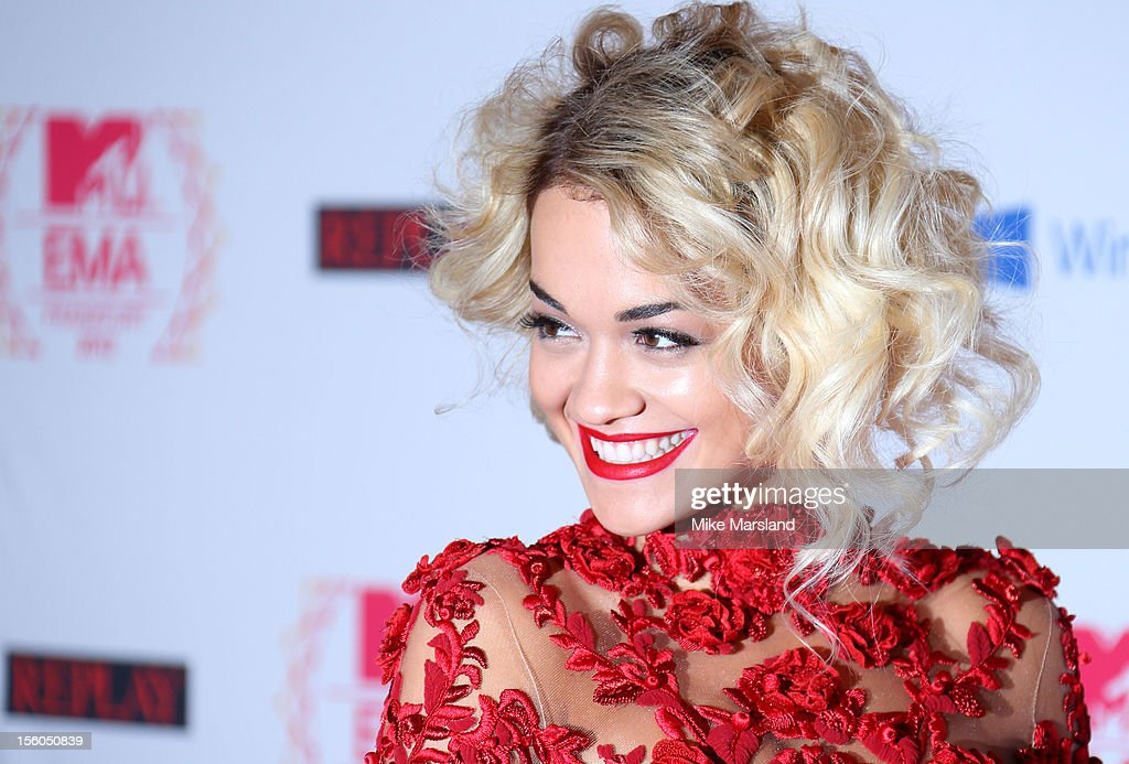 Rita Ora attends the MTV EMA's 2012 at Festhalle Frankfurt on November 11, 2012 in Frankfurt am Main, Germany.
