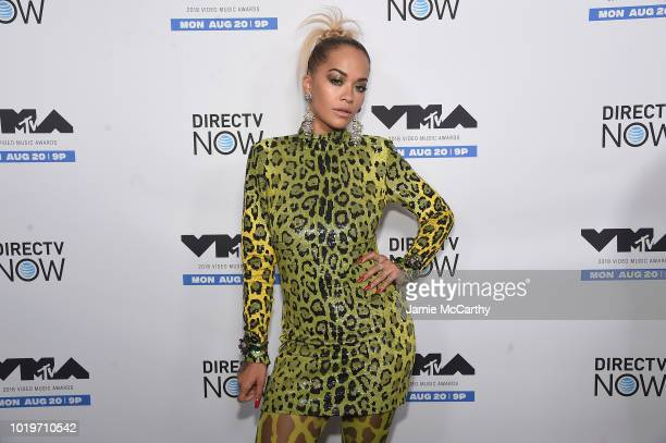 Rita Ora attends the MTV VMA Kickoff Concert presented by DirecTV Now at Terminal 5 on August 19 2018 in New York City