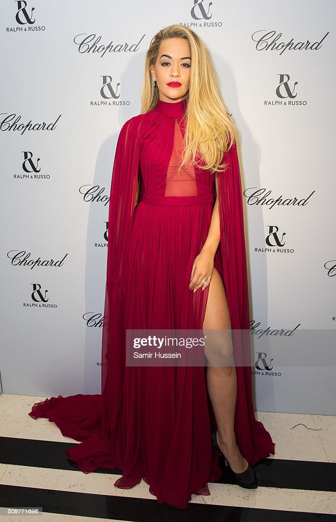Ralph & Russo And Chopard Host Dinner - Paris Fashion Week - Haute Couture Spring Summer 2016