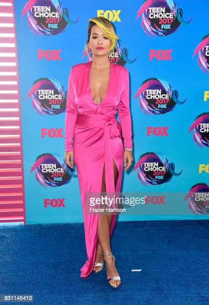 Rita Ora attends the Teen Choice Awards 2017 at Galen Center on August 13 2017 in Los Angeles California