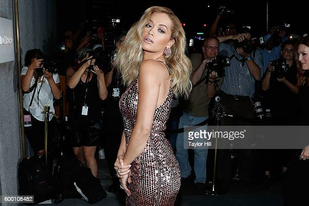 Rita Ora attends the Tom Ford Fall 2016 fashion show during New York Fashion Week September 2016 at The Four Seasons on September 7 2016 in New York...