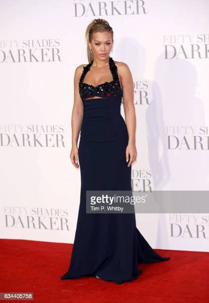 Rita Ora attends the UK Premiere of 'Fifty Shades Darker' at the Odeon Leicester Square on February 9 2017 in London United Kingdom