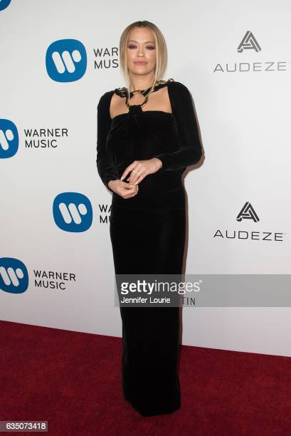 Rita Ora attends the Warner Music Group's Annual GRAMMY Celebration at Milk Studios on February 12 2017 in Hollywood California