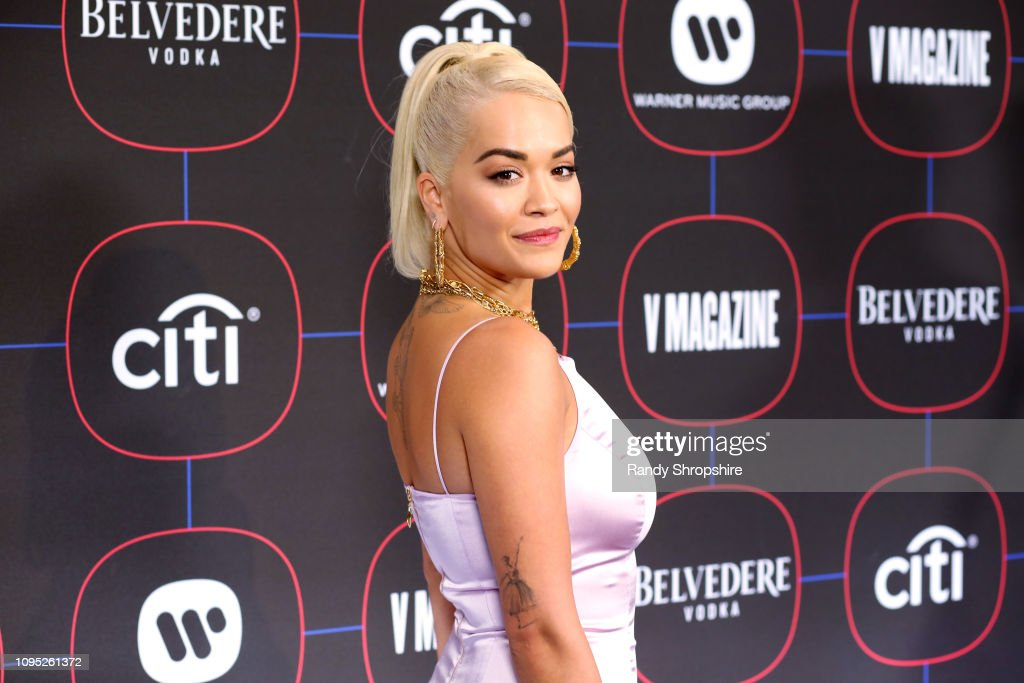 Warner Music Pre-Grammy Party - Red Carpet : News Photo