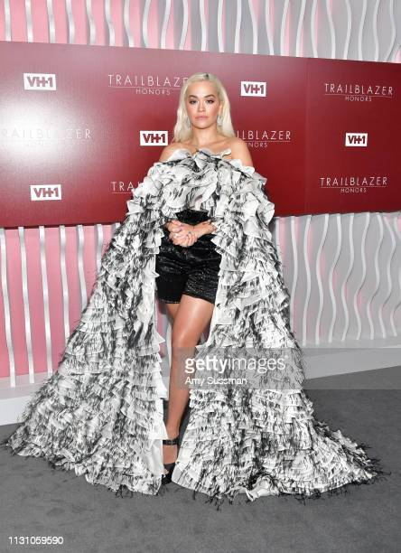 Rita Ora attends VH1 Trailblazer Honors at The Wilshire Ebell Theatre on February 20 2019 in Los Angeles California