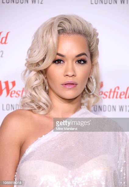 Rita Ora attends Westfield London's 10th anniversary celebrations at Westfield White City on October 30 2018 in London England