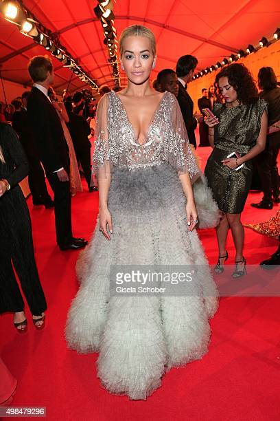 Rita Ora during the Bambi Awards 2015 at Stage Theater on November 12 2015 in Berlin Germany