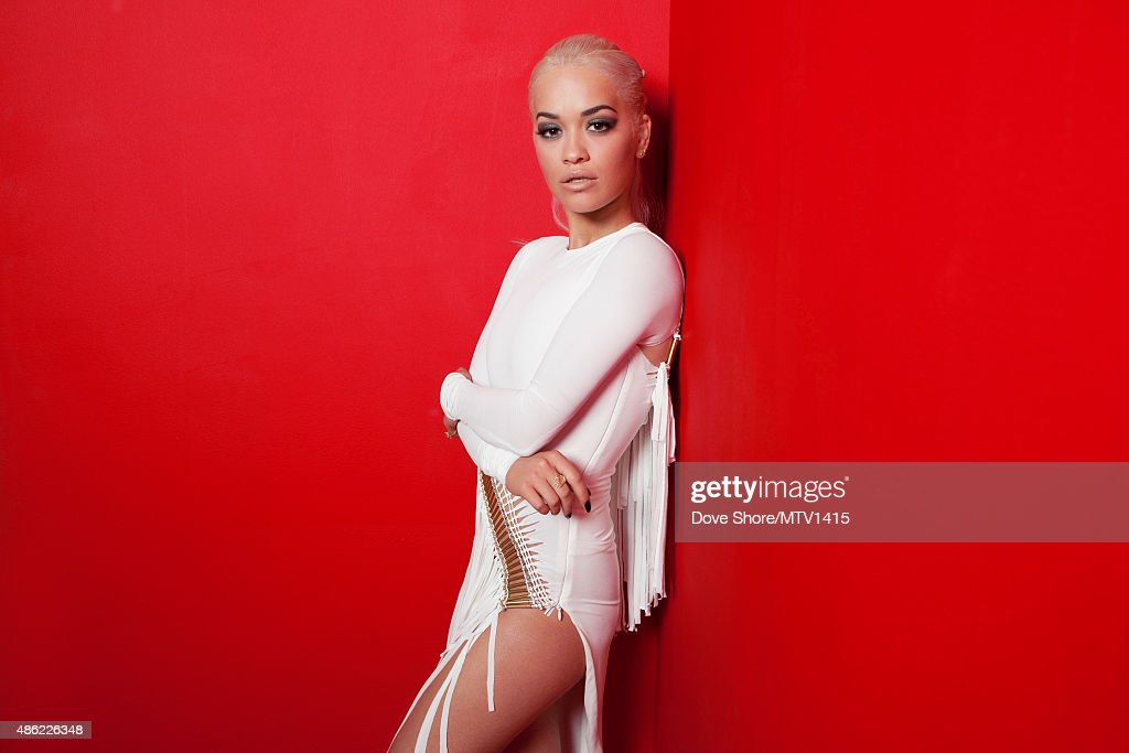 Rita Ora is photographed at the 2015 MTV VMA Awards on August 30, 2015 at the Microsoft Theater in Los Angeles, California.