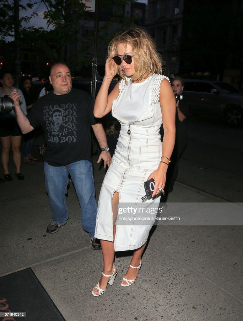 Celebrity Sightings In New York - April 29, 2017 : News Photo